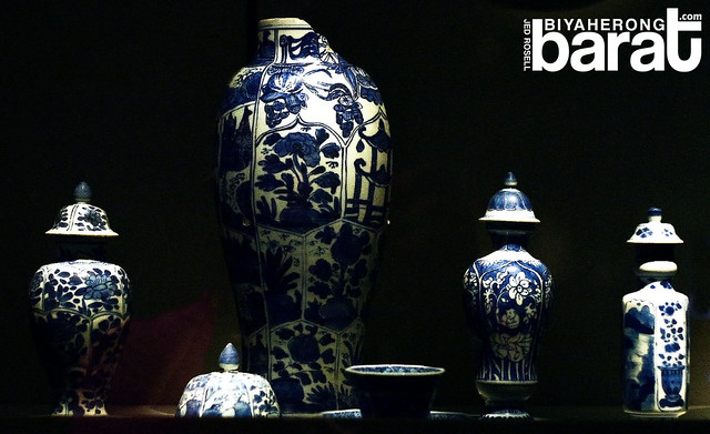 chinese vase in Asian Civilisations museum