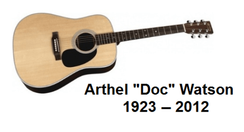 Doc Watson, 1923 -- 2012