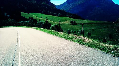Col de Romeyère descente vercors7