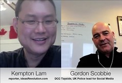 Insightful interview with +Gordon Scobbie @DCCTayside National UK police lead for Social Media