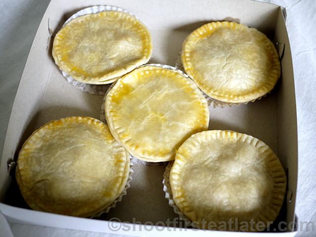 Dragonfly Desserts- hearty chicken pie