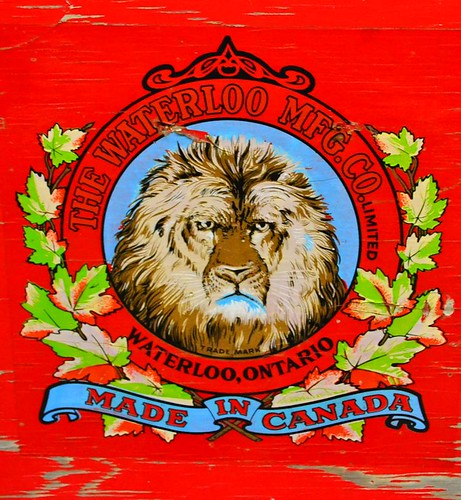 Lion logo Simcoe Co. Museum by gnawledge wurker