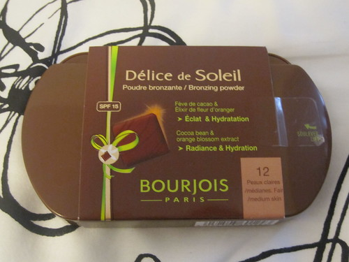Bourjois Delice de Soleil Bronzing Powder