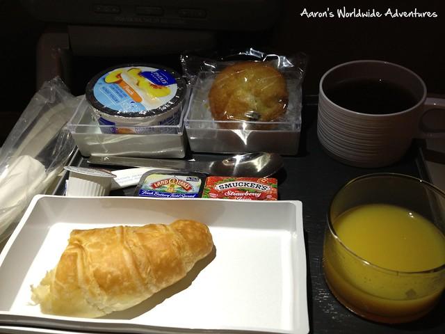 Breakfast on SQ25