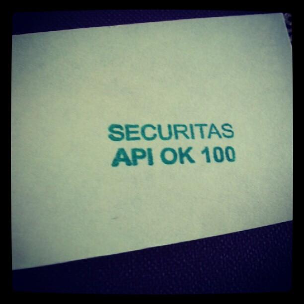 API OK!
