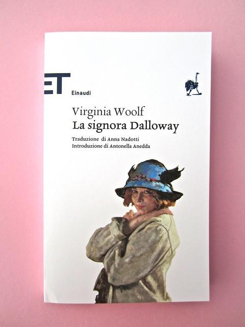 Virginia Woolf, La signora Dalloway, Einaudi 2012. Progetto grafico: 46xy. Copertina. (part.), 1