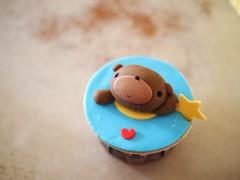 Bear cupcake, Delectable by Su, Mid Valley City, Kuala Lumpur