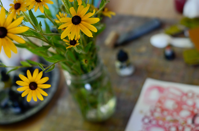Black Eyed Susans Summon Summer Memories, For Me
