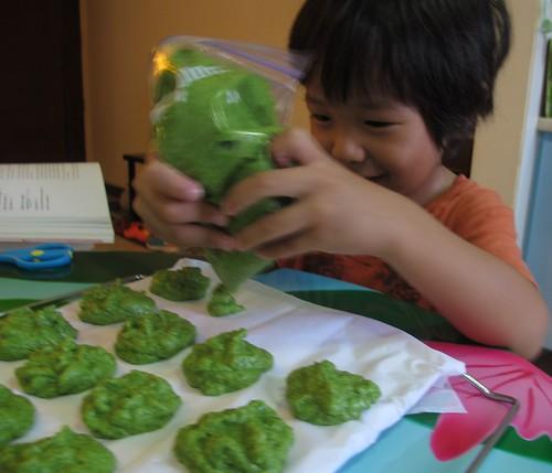 green tea dacquoise 2