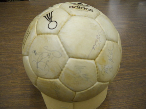 Signed Team Handball, 1984 Summer Olympics
