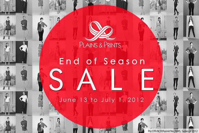 plains and prints end of season sale