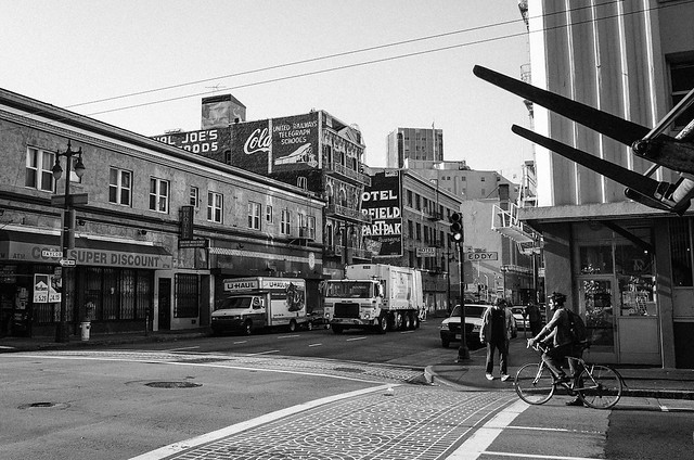 San Francisco monochrome