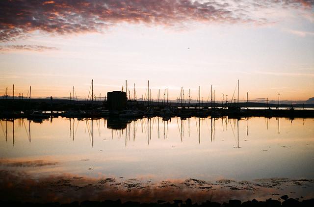 TT Kirkwall sunset