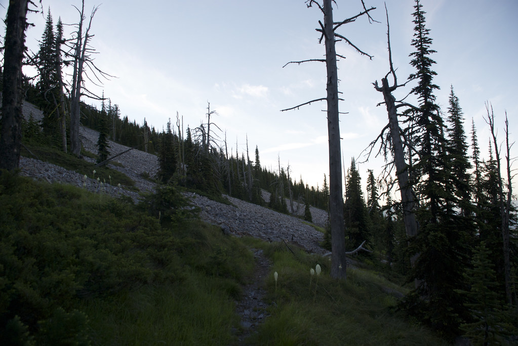 From USFS trail 340
