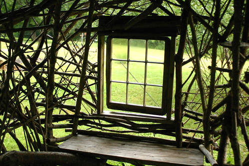Window on the orchard