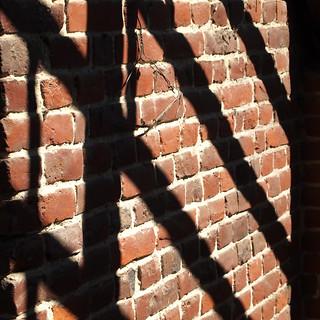 Charpente sur briques