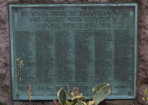 Tarrytown NY, World War Oe Memorial