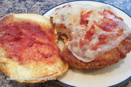 Burger King Chicken Parmesan Sandwich Top 2