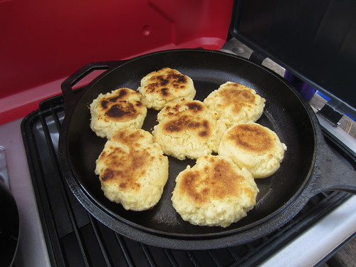 camp stove biscuits