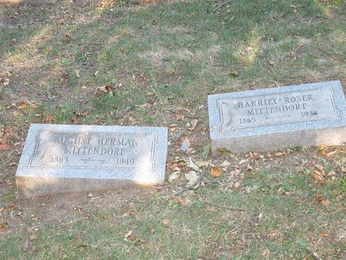 Mittendorf headstones