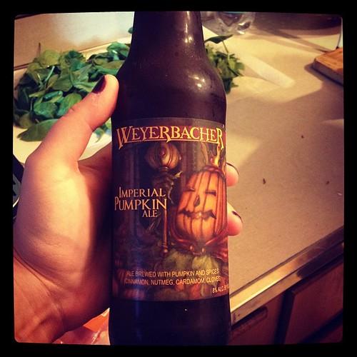 Second pumpkin beer!