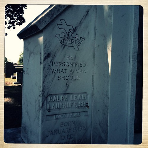 He was Loved by all, Elmwood Cemetery, Memphis, Tenn.