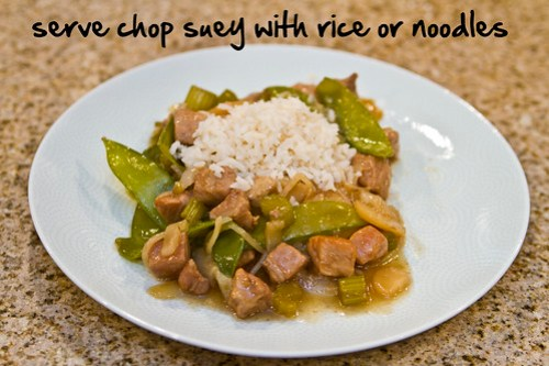serve with rice or noodles