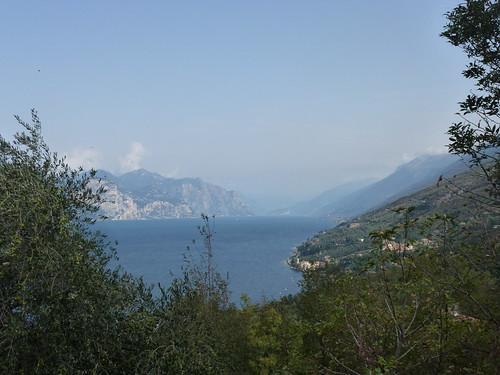 The north end of the lake from San Siro - Crero