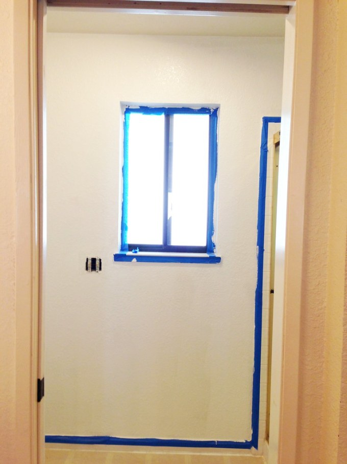 Painting the Master Bath