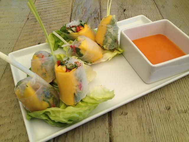 Chilled veggie summer roll - Jiao