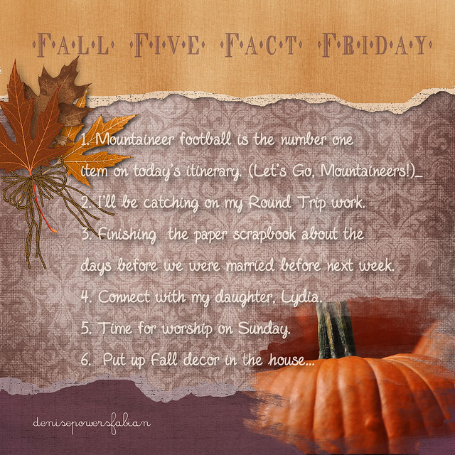Fall 5 Five Fact Friday