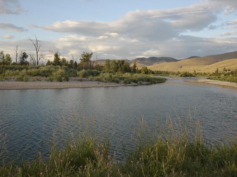 Flathead River at Sunset