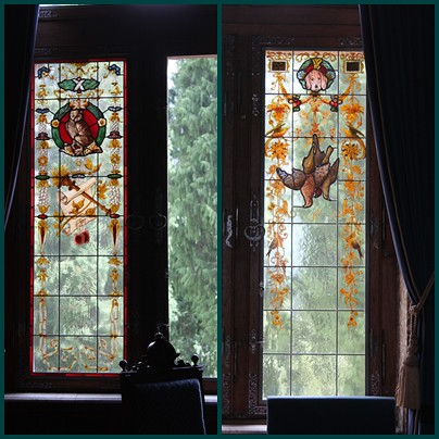Drachenburg-stained-glass-windows