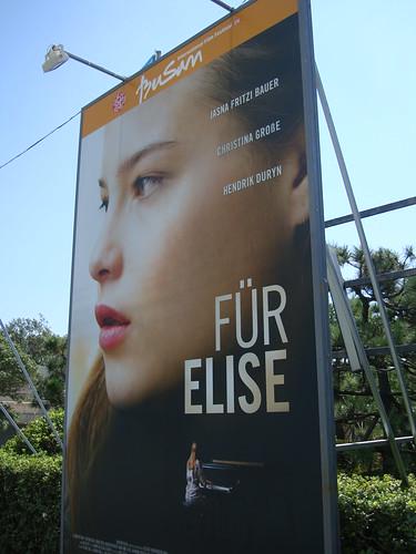 "BIFF Filmplakat ""Für Elise"" by Jens-Olaf"