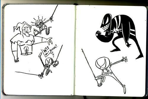 Sketchbook: Homem-Aranha