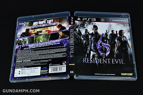 Resident Evil 6 Special Pack Jacket & Shirt PS3 Philippines Release (8)