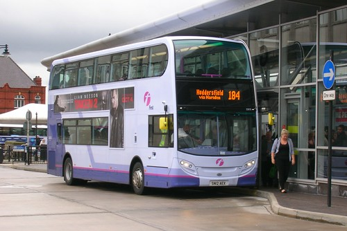First Greater Manchester, Enviro400, Oldham bus station