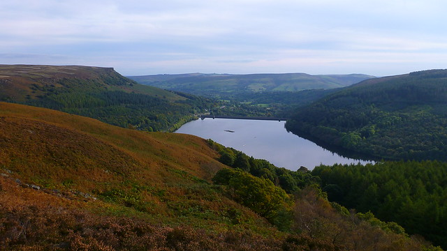 Bamford Edge, Ladybower Reservoir