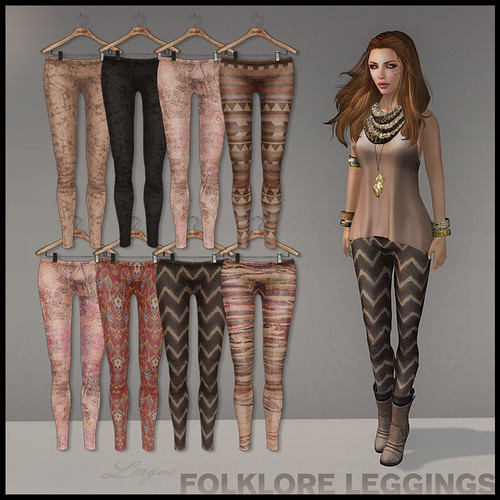 League Folklore Leggings