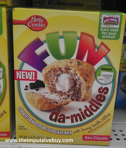 Fun da-middles Cookies and Cream