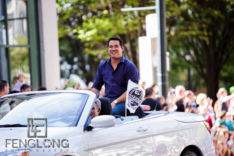 Dean Cain Superman | Dragon*Con Parade 2012 | Atlanta Event Photographer