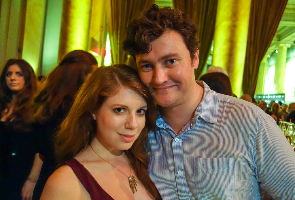 Lindsay & Richard at the DuJour Magazine Launch Party