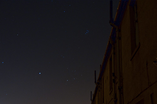 Jupiter and the Pleiades