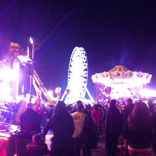 How's that for a Ferris wheel. #goosefair #nottsinvasion
