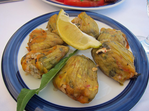 Stuffed Courgette Flowers