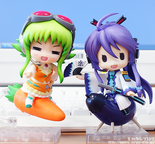 Nendoroid GUMI and Gakupo