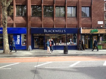 Blackwell's Store on Charing Cross Road, London