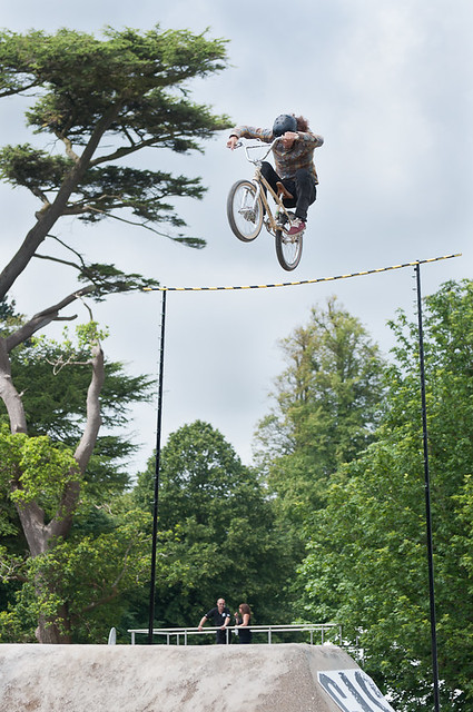 High flying BMX