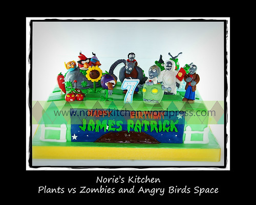 Norie's Kitchen - Angry Birds Space and Plants vs Zombies by Norie's Kitchen