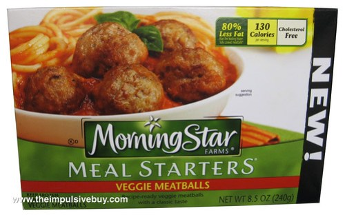 Morningstar Farms Meal Starters Veggie Meatballs
